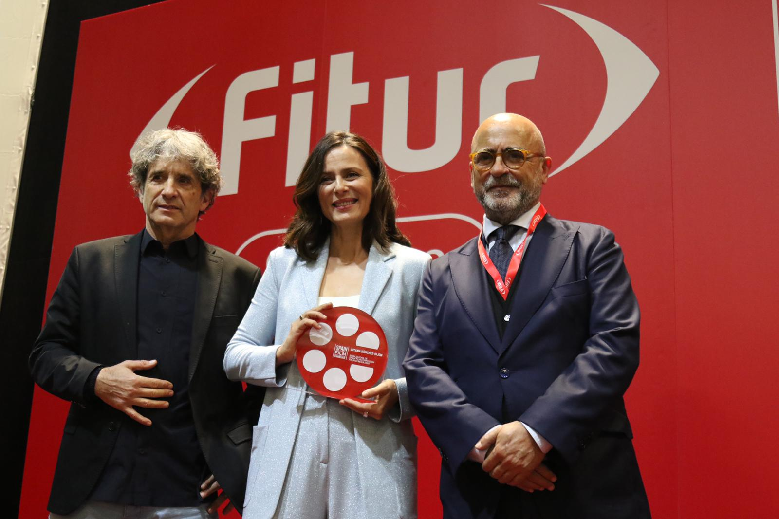 La Spain Film Commission nombra a Aitana Sánchez-Gijón, acompañada por la Unión, embajadora honorífica